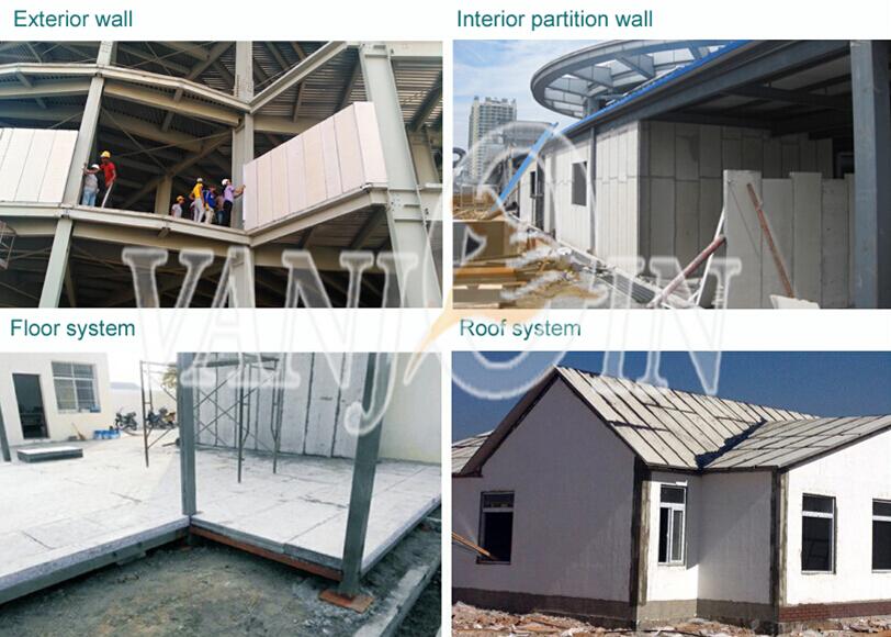 Foam Sandwich Panel Construction : Fireproof waterproof steel structure hard foam insulation