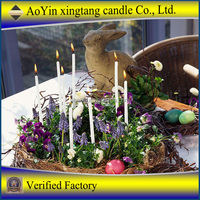 Cheap White Christmas candle for hot sell