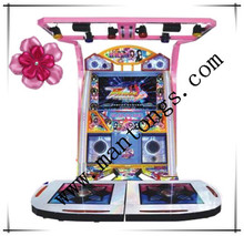 Videojuego baile Deluxe máquina arcade zona infantil de juegos
