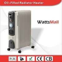 Low Consumption Oil Filled Heater with Timer with Fan