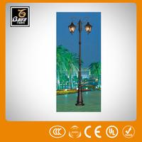 gl 5470 solar charger with battery outdoor lights garden light for parks gardens hotels walls villas