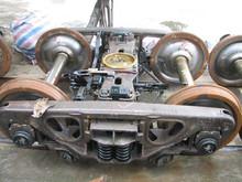 Railway vehicle equipment bogie