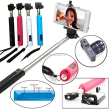 Handheld Bluetooth Selfie Stick Monopod Extendable For iPhone Samsung HTC