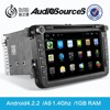 android car multimedia system with GPS navigation 3G WIFI car radio for Volkswagen skoda