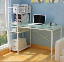 Compact Design Glass Computer Desk