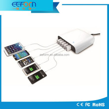 5 port Multi-port USB Charging Station with Intelligent IC