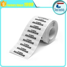 Made in China! Ultra high frequency 64TID 32 Bit Access and 32 bit Kill Passwords Sticker tag for Baggage Handling and Tracking