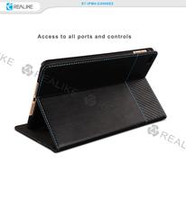 For ipad mini 4 genuine leather cover case
