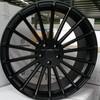 Big Size 22 inch Multispoke Black Wheels Rims