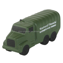 Guangzhou Supplier Promotional Kids Military Truck Stress Reliever