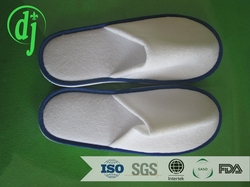 red terry disposable hotel slippers for direct hotel supplies