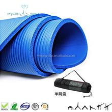 Black yoga mat 10mm , import yoga mat earthing