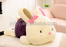2015 new wholesale custom stuffed toy plush rabbit gift