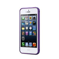 China suppliers mobile phone bulk aluminium case for iphone 5 metal bumper