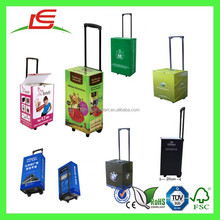 Q1224 China Manufacture Corrugated Paper Cheap Luggage Trolley Bags Wholesale