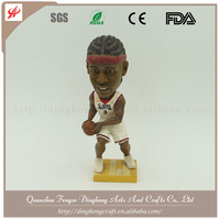 Customized Bobble Head , Polyresin Bobblehead Polyresin African Figurines