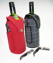 Neoprene Foam Cooler Bags For Wine Gel Pack Bottler Cooler Wine Cooler