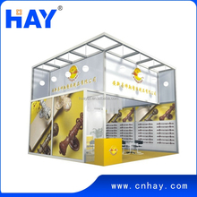Finely processed Elegant looking Rational construction Modular trade show booth