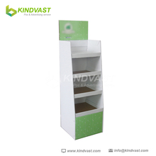 Printed Folding Cardboard Recycled Display Stand