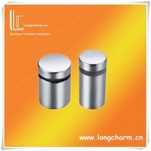 de vidrio de soporte del estante de herrajes para muebles y estante de cristal fabricante apoya