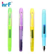 Plastic transparent fountain pen