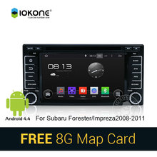 Iokone Car Stereo with GPS Bluetooth For Subaru Forester/Impreza2008-2011