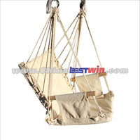 2015 hot sale cheap patio swing/outdoor hanging chair/wholesale canvas swing