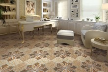 300x300mm new design 3D inkjet printed rustic glazed high quality rural floor tiles prices