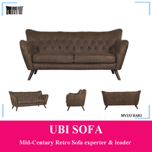 Luxury New Design Leather Sofa Set for Home Furniture MY153