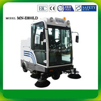 E800LD CE vacuum cleaner water and dust, roller brush cleanning machine
