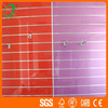 high gloss uv slatwall panel