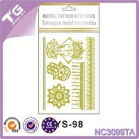 Oem/Odm Metallic Tattoo,Wings Bird Star Tattoo,Japanese Tattoo Sleeve