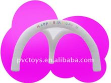2012 white inflatable arch tent