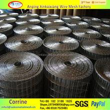 "1/4"", 1/2"" Stainless Steel Welded Wire Mesh / 10 Gauge Galvanized Welded Wire Mesh"