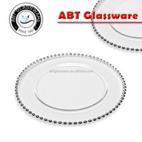 beaded charger plate wholesale