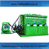 Combined electric motor hydraulic drive patent test bench diesel injection pumps