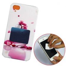PU + gel sticky wipe,microfiber sticky cleaning cloth,microfiber mobile phone screen cleaner sticker