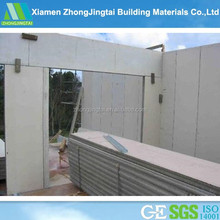 Xiamen zhongjingtai EPS cement sandwich wall panel for interior and exterior wall