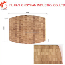 Vetical Pressed Bamboo Chopping Sheet with customized dimension