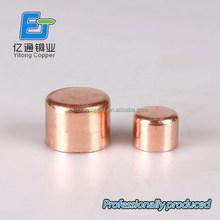 OEM 15mm EN1254-1 5301 copper pipe threaded stop end CAP for cartridges
