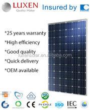 255W hyper power Mono Solar Panel Photovoltaic Solar Panel