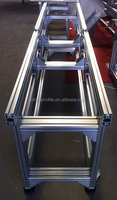 2015 best selling T slot extrusion aluminium conveyor belt