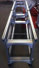 2015 best selling T slot extrusion aluminium conveyor belt