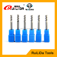 aluminium processing 6mm solid tungsten carbide end mill