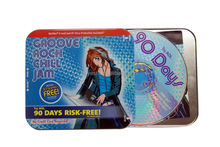 Wholesale custom CD/DVD tin box/case/container