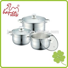 Kitchen Ware For Cooking,Straight Shaped Pots Stainless steel Cookware Set /CW-1404