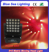 2015 new 25x12w 4 in 1high quality beam washer moving head