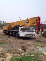 50T used Japanese famous brand KATO NK500E-V truck crane for sale