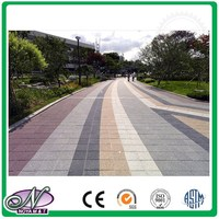 Ceramic brick natural noise reduction paving tile to improve the quality of living environment