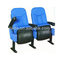 Low price elegant Movie/cinema seat for sales with single leg
